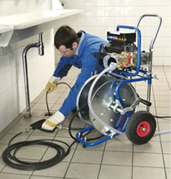 Gilbert drain cleaning expert users a hydrojet