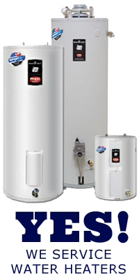 we repair, install, and maintain tankless, conventional, and pint sized water heaters in Gilbert Arizona